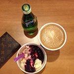 Coffee and frozen yogurt !!!