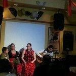 Flamenco show at Taberna de San Roman