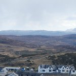 Bettyhill Hotel with Ben Griam Mor and Ben Griam Beg