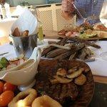 Gorgeous food, wonderful hosts