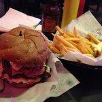 Reuben Burger Deluxe
