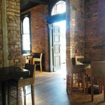 The lovingly restored interior of the 125 year old pub