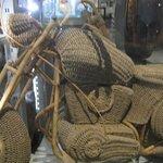 bike made of rattan
