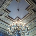 Mezzanine ceiling detail.