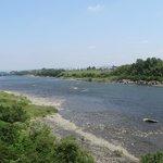木曽川上流方向