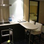 Room 1428 common area/kitchen