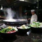 蒙古烤肉區