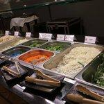 蒙古烤肉夾菜區