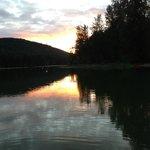 St. Mary's Lake sunset