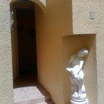 entrance to villa203
