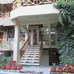 Hotal Garden area