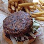 little veggie burger