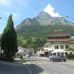 on direct train line from Zurich and you get the bus to Liechtenstein