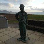 Charlie Chaplin Statue - Waterville