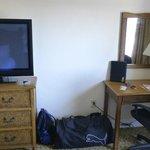 großer Flat TV