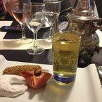 Thé à la menthe gourmand