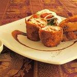 Cordon Bleu staffed with Parma Ham and Mozzarella cheese