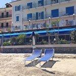 Strandbereich vor dem Hotel