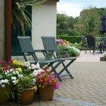 Bagbury Byre garden