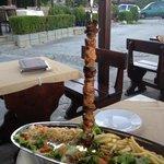 chicken sashlik at The Neptune