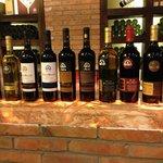 The range of wines