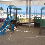 Lovely shady play area