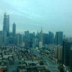 Blick aus meinem Hotelzimmer im 37 Stockwerk
