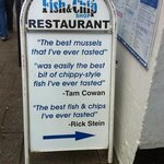 Oban Fish and Chip Shop Photo