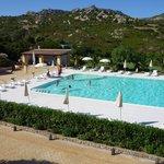 La Fenice's (freezing cold) pool