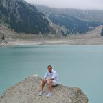 One of the lake in Almaty about 1 hour drive from Otrar Hotel, Almaty