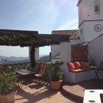 Roof terrace @ Los Castanos