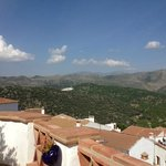 view of Cartijima from roof top of Los Castanos