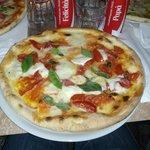 "Pizza Bufalina, qui chiamata ""Antica Taormina"""