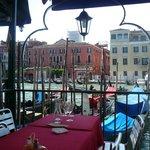 une terrasse à Venise...