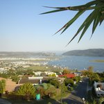 Knysna Heads from top room