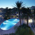 Hotel, piscina interior