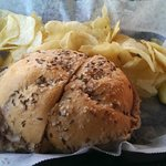 Beef on weck with chips