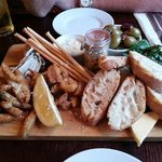 The fish platter