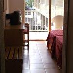 pokój i widok z pokoju 138