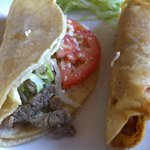 Worst steak taco ever - tasted like spoiled meat or road kill!