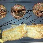 Home made tartare.... spicy as we like