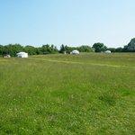 The three yurts