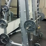 Squat and bench machine