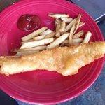 fish and chips kids menu