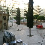 View to Plaza de las Carmelitas