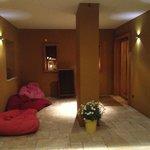 Eingangsbereich als Relaxzone