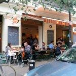 A Magica restaurant on a summer Sunday evening