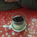 Dessert glacé haricots rouges