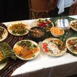 Various dishes served at Viva Mexico