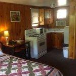 inside of cabin 14